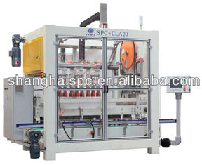 China 750W Robot Packaging Machines Case Packer Machine For Cartons , Cans supplier