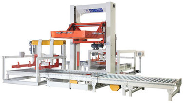 China 11KW Plastic Bottle Packaging Machine Auto Case Palletizer Machine 140MMH supplier
