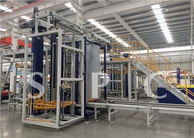 China Low Voltage Electrical Depalletizer Machine For Empty Tin Can Box Form supplier