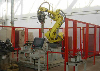 China PLC Control Robotic Palletizing System Loader For Beverage Industry supplier