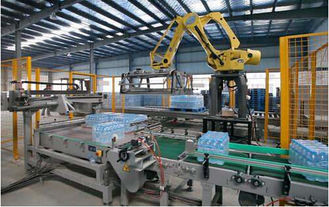 China 36000 BPH Robot Packaging Machines Beverage Line Bottle Robotic Palletiser supplier