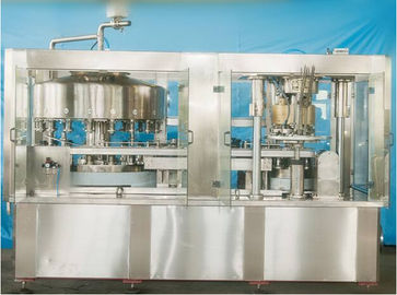 China Multi Head Food Filling Machine Aluminum Pop Can Beverage Filling Equipment supplier