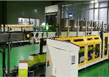 China PLC Wrap Around Plastic Bottle Packaging Machine With LCD Touch Screen supplier
