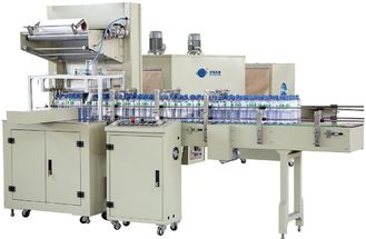 China High Speed Plastic Bottle Packaging Machine Shrink Wrap Equipment 220V / 380V supplier