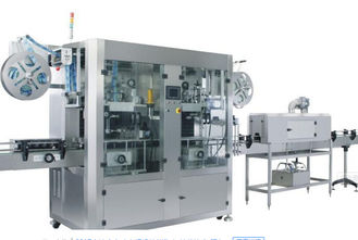 China CE Double Head Shrink Sleeve Machine Automatic 1500Kg For Beverage supplier