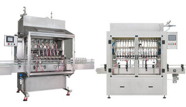 China High Pressure 2KW Automatic Bottle Filling Machine For Fruit Juice Filling supplier