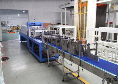 China Ce Approved Beverage Packaging Machine , Automatic Shrink Wrap Machine supplier