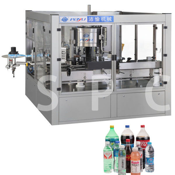 Electric Bottle Sticker Labeling Machine For Bottle Neck Body Back