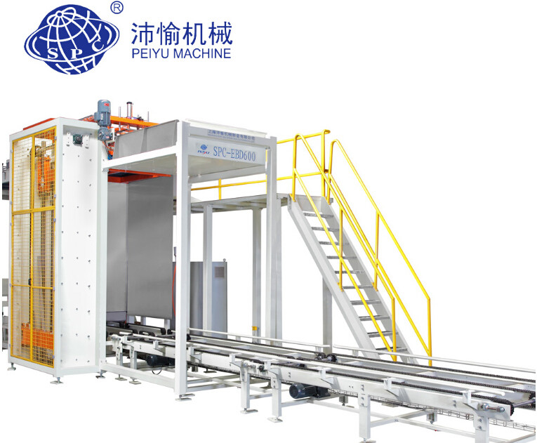 Full Automatic Can Depalletizer Machine In Packing Line 7 Bar 800 L/min