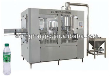 SPC CGF Automatic Beverage Filling Machine 3 In 1 Water Filling Machine