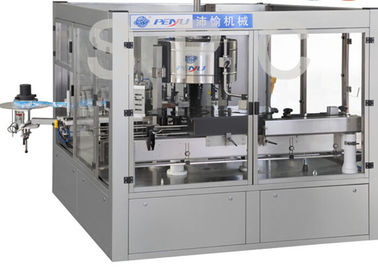 China Linear Type Automated Labeling Machine Bottle Labeling Equipment 1500KGS factory
