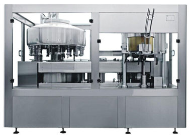 Aluminum Can Automatic Filling Capping Machine For Carbonated Drinks
