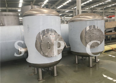Fruit Drink Steam Sterilization Equipment Low Temperature Roller Type
