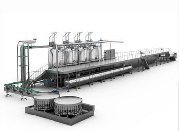 Continuous Sterilizing Retort Food Production Line Vertical For Canned Food