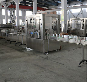 380V 50Hz Electric Food Filling Machine PLC Control For Juice / Water