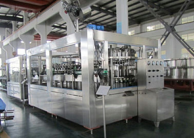 Carbonated Soft Drink Beverage Filling Machine Multi Head 12000BPH