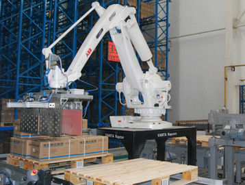 China Hight Efficiency Large Cartons Robot Palletising Touch Screen Controller factory