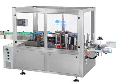 China Anti Corrosion Bottle Sticker Labeling Machine Hot Melt Linear L1800 W1800 H1900 factory